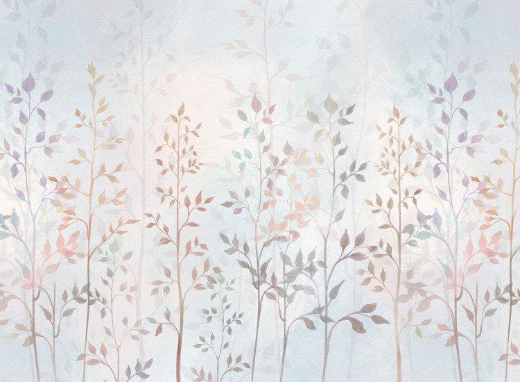 Детски фототапети-Фототапет Акварелни растения
