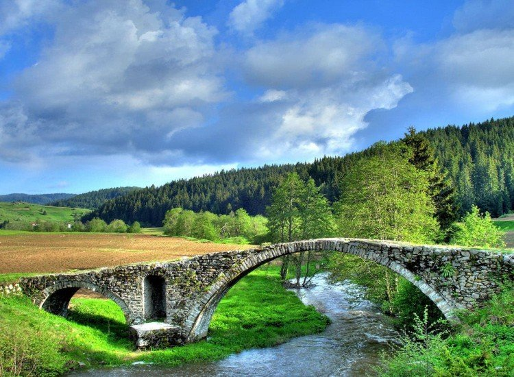 Пейзажи и природа-Фототапет Пейзаж от Родопите
