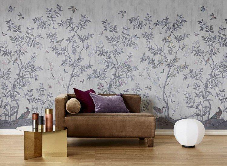 Растения-Фототапет Перленосиви цитрусови дървета