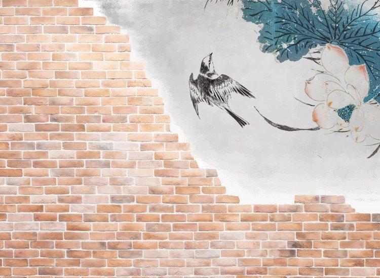 Абстрактни фототапети-Фототапет Свободна птица