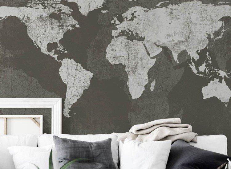 Карти-Фототапет Гръндж Карта