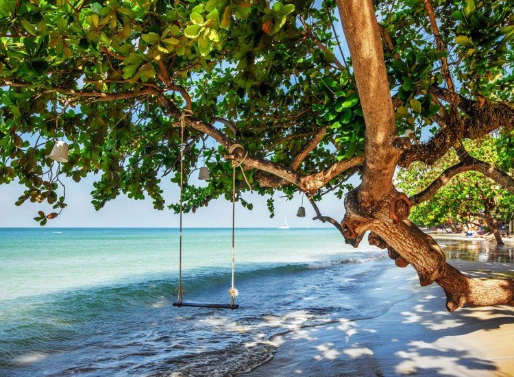 Пейзажи и природа-Фототапет Люлка на брега