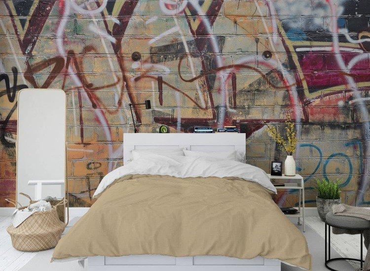 Тийн-Фототапет Graffitis colorés