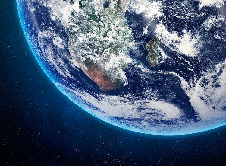 Космос-Фототапет Земя