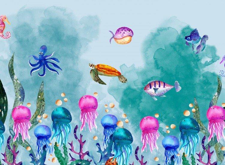 Детски фототапети-Фототапет Sea world
