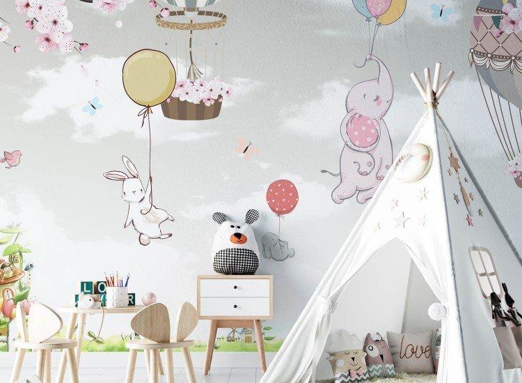 Детски фототапети-Фототапет Des Ballons