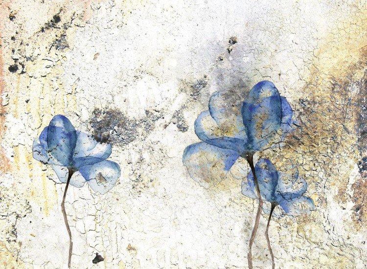 Цветя-Фототапет Flores grunge