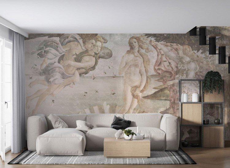Винтидж фототапети-Фототапет Раждането на Венера