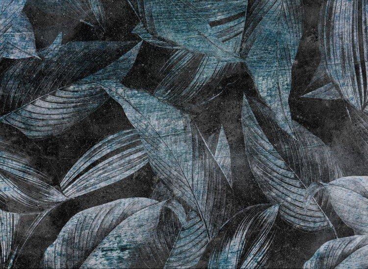 Растения-Фототапет Foglia - blue