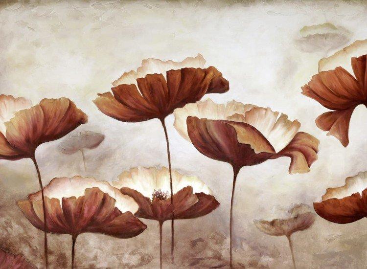 Цветя-Фототапет Opio - beige