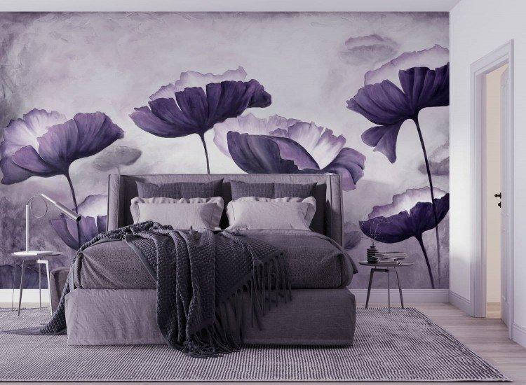Цветя-Фототапет Opio - purple