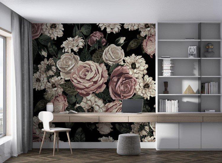 Цветя-Фототапет Blumen