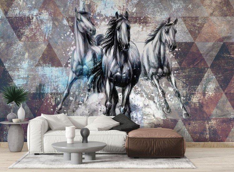 Фототапет Cavalos