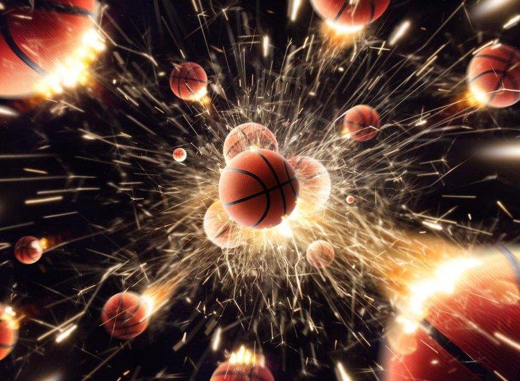 Тийн-Фототапет Basketball