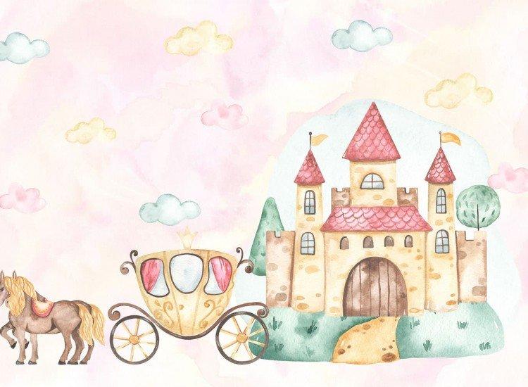 Детски фототапети-Фототапет Princess castle