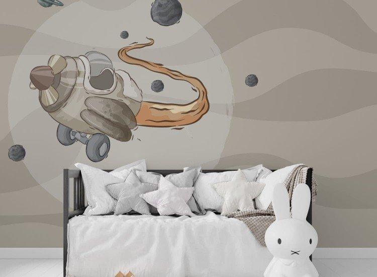 Детски фототапети-Фототапет Космически кораб
