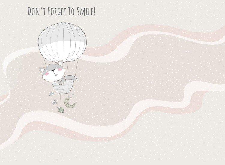 Детски фототапети-Фототапет Dont forget to smile