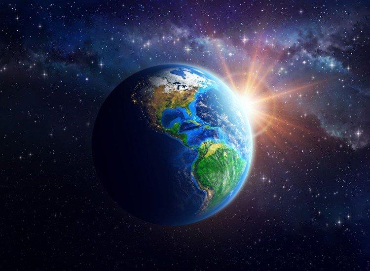 Космос-Фототапет Планетата Земя