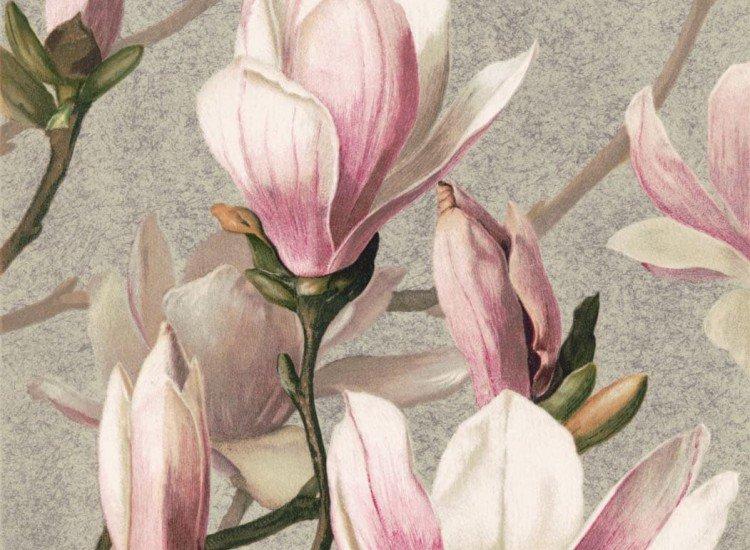 Цветя-Фототапет Магнолиев цвят