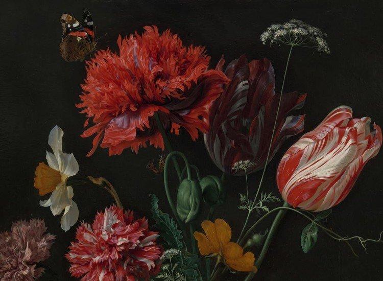 Фототапет Класически цветя Still life flowers