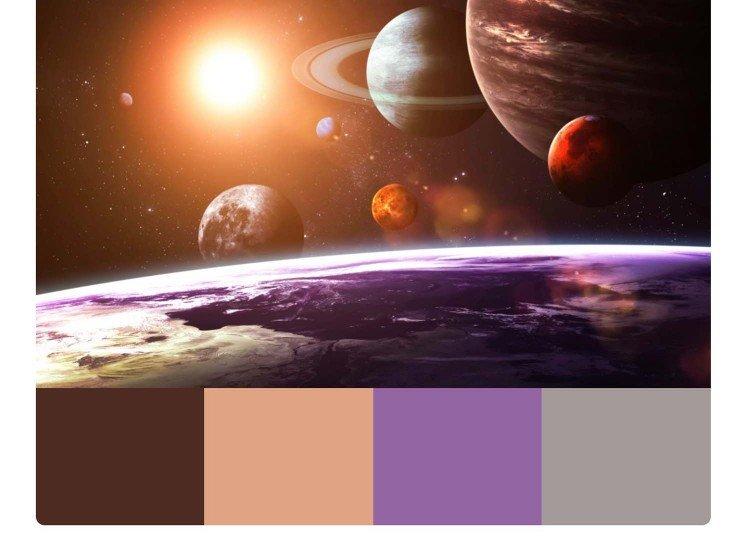 Фототапет Космически пейзаж - Фототапети БГ