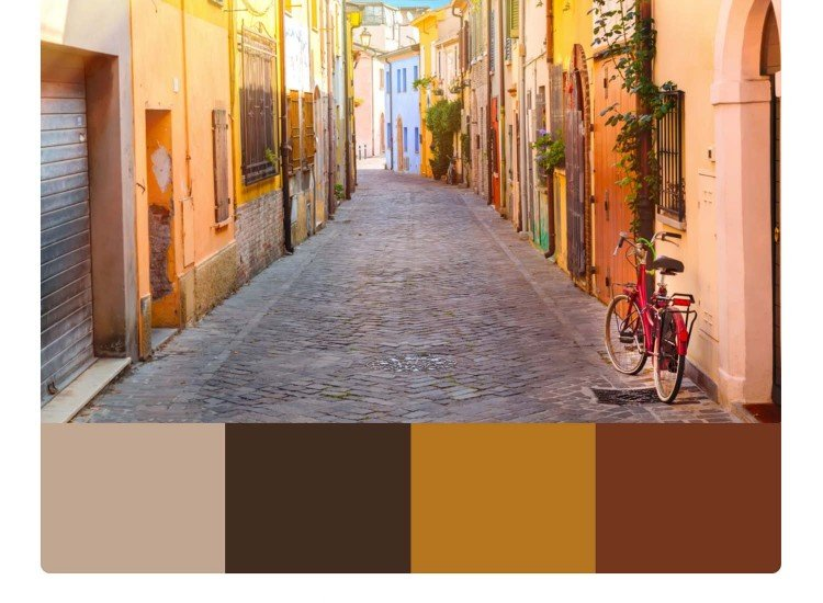 Фототапет Улица в Римини - Фототапети БГ