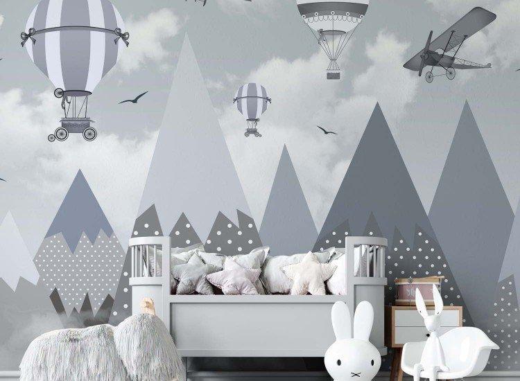 Фототапет Балони и самолети - Фототапети БГ