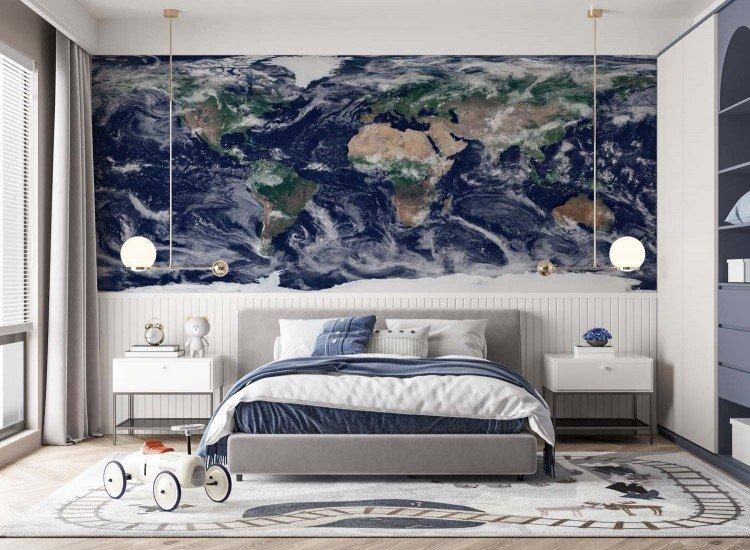 Фототапет Облак над Земята - Фототапети БГ