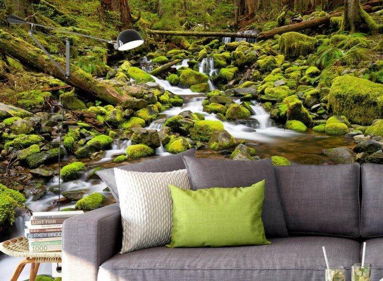 Пейзажи и природа-Фототапет Горски приток