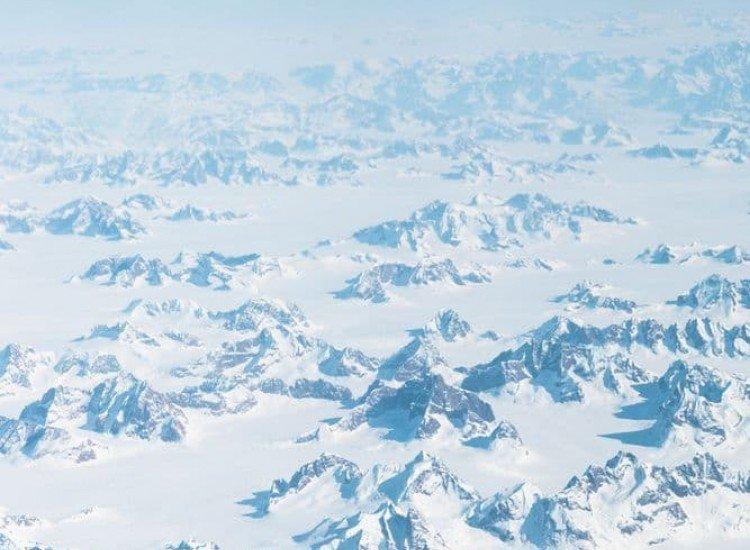 Пейзажи и природа-Фототапет Над планините