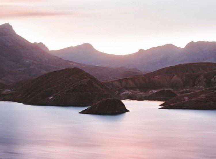 Пейзажи и природа-Фототапет Вълшебен залез