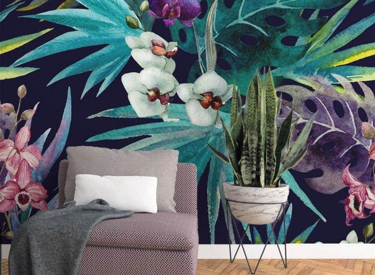 Цветя-Фототапет Ботаника