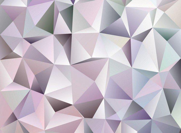 Фототапет 3d триъгълници