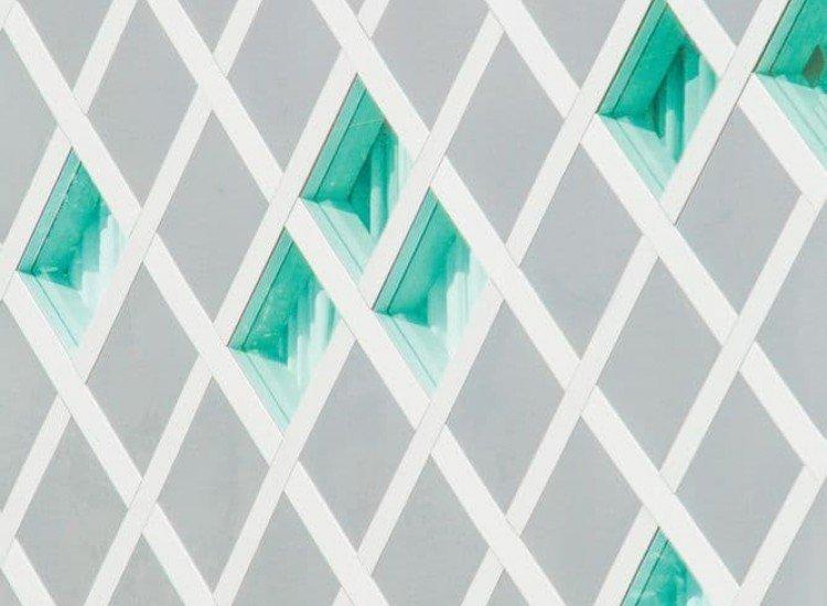Архитектура-Фототапет Светли ромбоиди