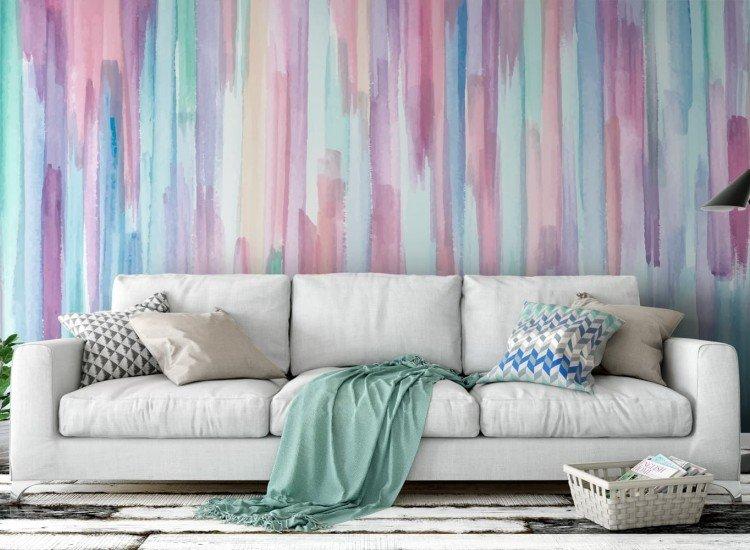 Текстури-Фототапет Цветен фон