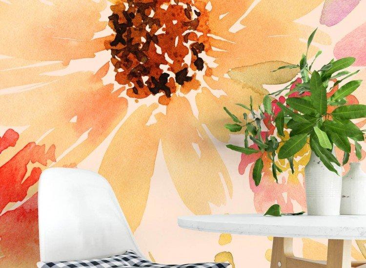 Цветя-Фототапет Свежи цветове