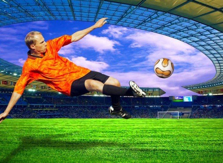Тийн-Фототапет Футболен удар