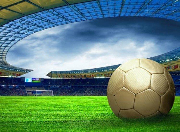 Тийн-Фототапет Футболна топка