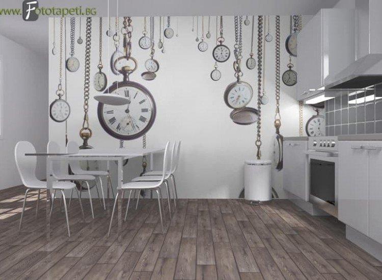 Винтидж фототапети-Фототапет Стари часовници
