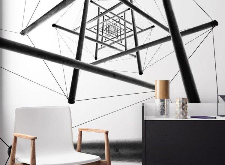 Архитектура-Фототапет Абстрактни архитектурни линии