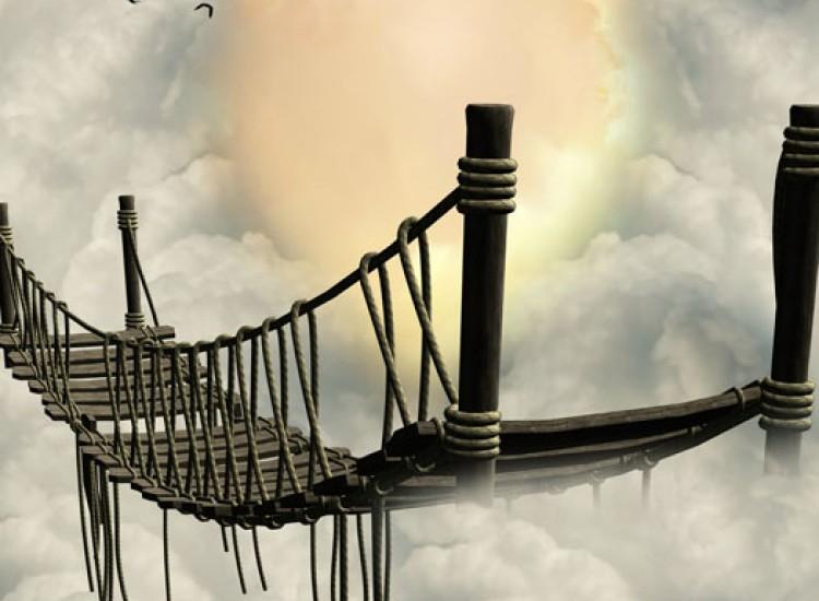 Фототапет Въженият мост