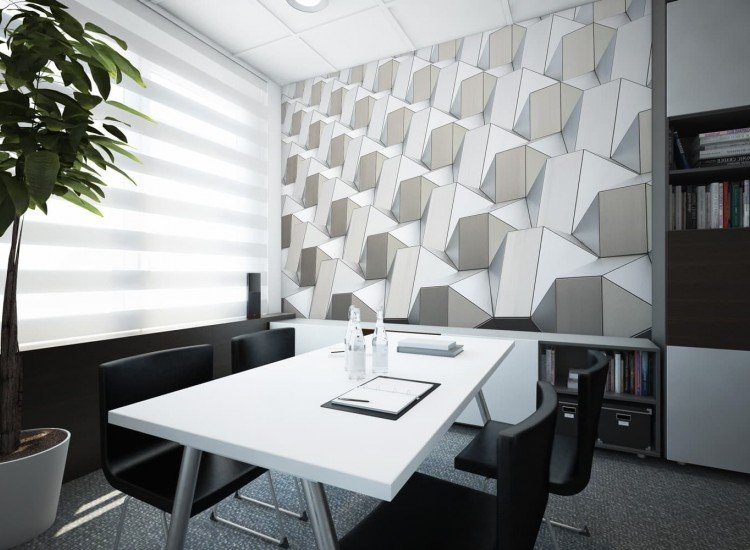 Архитектура-Фототапет Архитектурни кубове