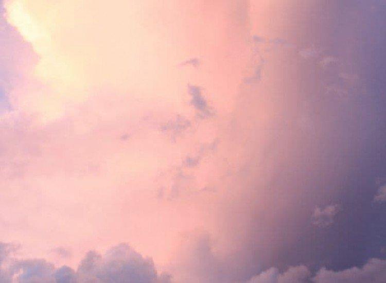 Пейзажи и природа-Фототапет Нежни облаци