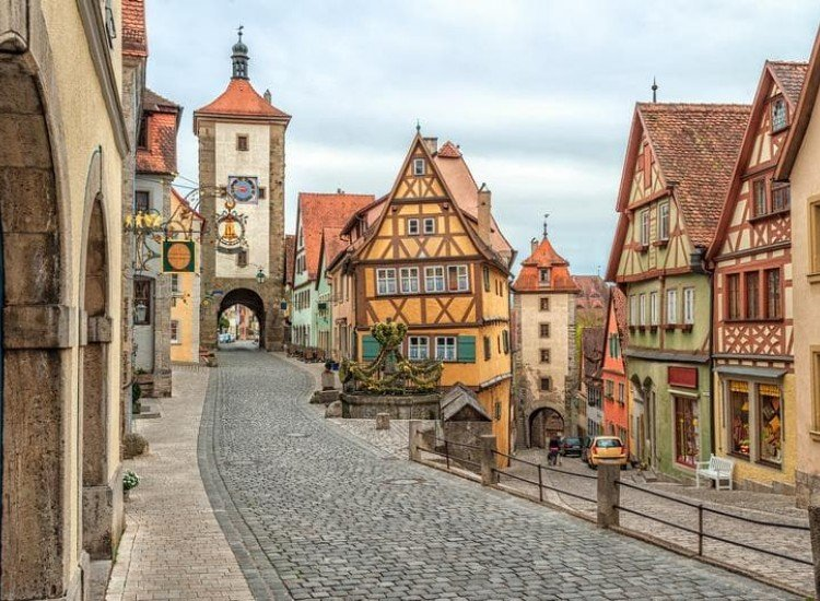 Градски пейзажи-Фототапет Ротенбург, Германия