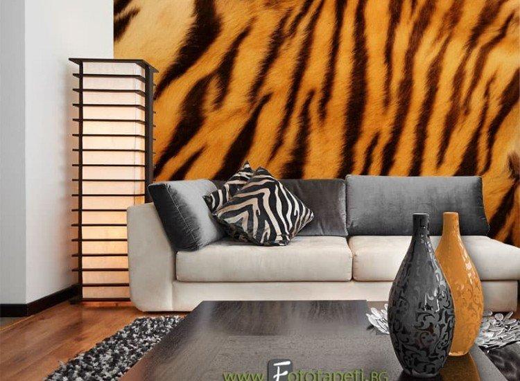 Текстури-Фототапет Тигрова кожа