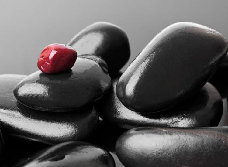 Зен фототапети-Фототапет Абстрактни камъни