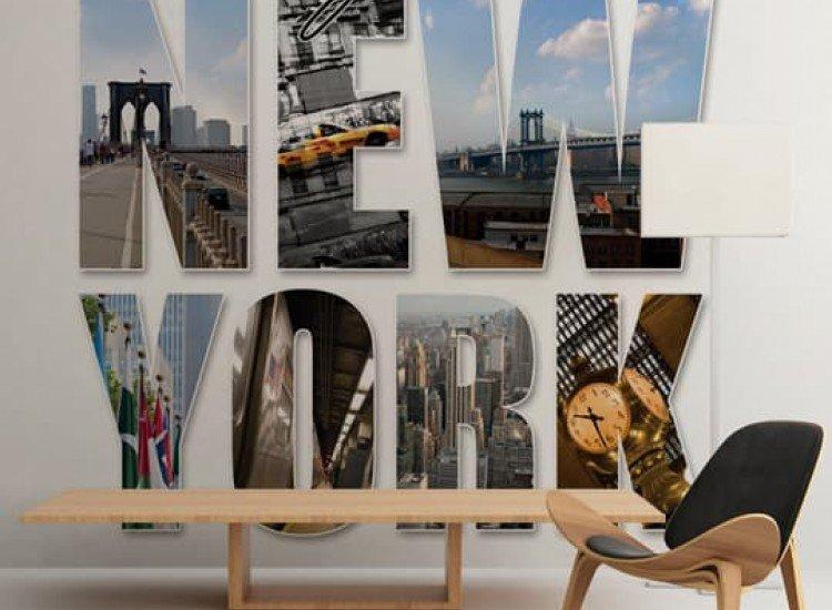 Градски пейзажи-Фототапет New York