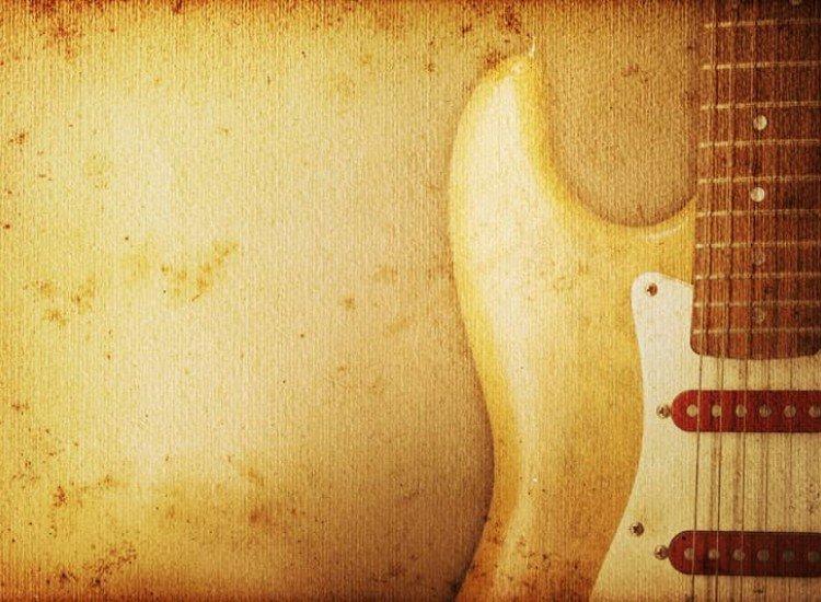 Изкуство и музика-Фототапет Струни
