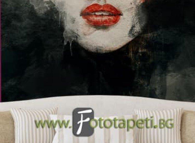 Изкуство и музика-Фототапет АРТ Лице