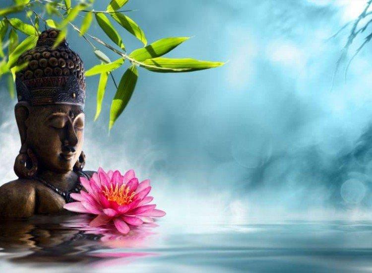 Зен фототапети-Фототапет Буда в медитация